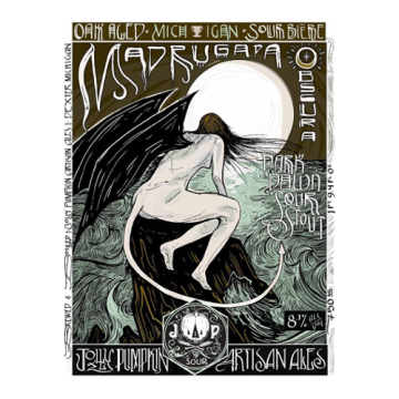 Jolly Pumpkin 'Madrugada Obscura - 2017' Dark Dawn Sour Stout 750ml