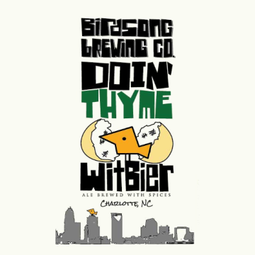 Birdsong 'Doin Thyme' Wheat 16oz Sgl (Can)