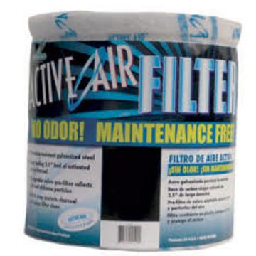 "Filter, Active Air 12"" X 13"" Carbon Filter - No Flange"