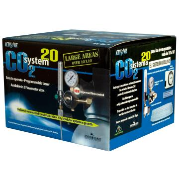 CO2 System with Timer, 1-20 cubic feet per hour) COSYS20