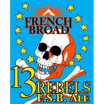 French Broad 13 Rebels ESB Can Case (12oz - Box of 24)