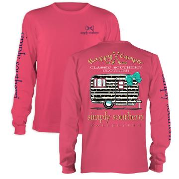 Simply Southern Prep Camper Long Sleeve T-shirt