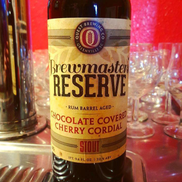 Quest 'Chocolate Covered Cherry Cordial' Stout 750mL