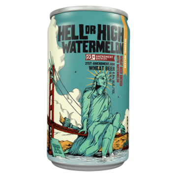 21st Amendment 'Hell or High Watermelon' 12oz Sgl (Can)