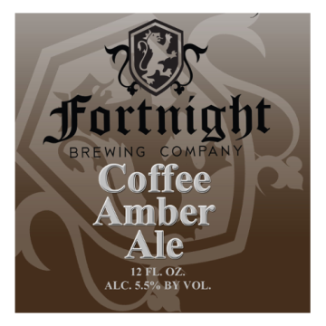 Fortnight 'Coffee Amber' Ale 12oz Sgl (Can)