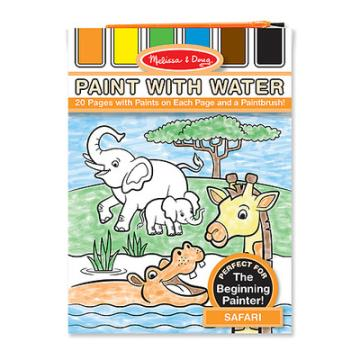 M&D Paint With Water- Safari
