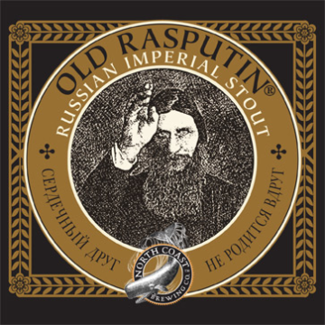 North Coast 'Old Rasputin' 22oz