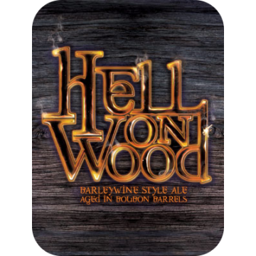 DuClaw 'Hell on Wood' Barrel-aged Barleywine 12oz Sgl