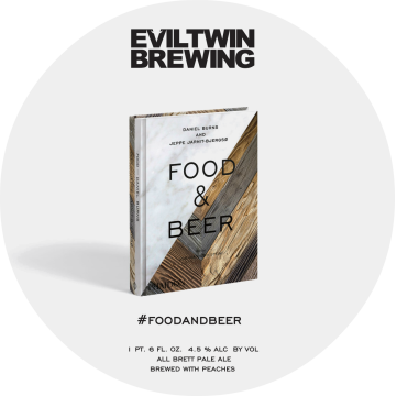 Evil Twin 'Food & Beer' Brett Pale Ale with Peaches 22oz