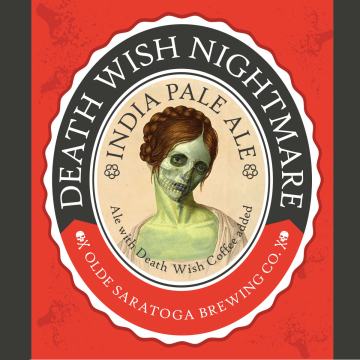 Olde Saratoga 'Death Wish' Nightmare IPA 22oz