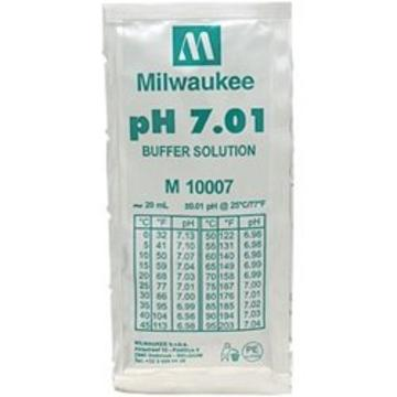 Milwaukee Ph 7.01 Buffer Solution, 20ml Per Unit