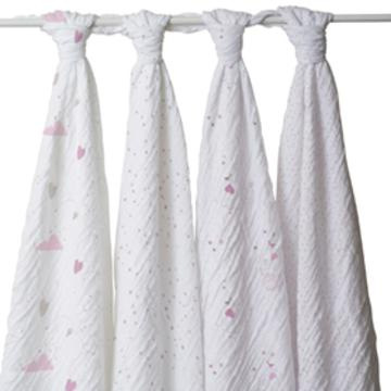 a+a Classic Swaddle Blankets_ Lovely
