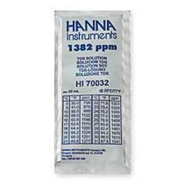 Hanna 1382 ppm @25C Calibration Solution, 20ml Per Unit