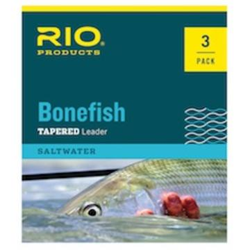 RIO Bonefish Knotless Leaders 10ft  3-Pack