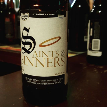 Big Boss 'Saints and Sinners' 12oz Sgl