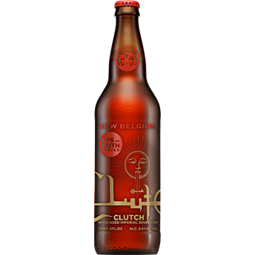 New Belgium 'Clutch' Dark Sour Ale 22oz