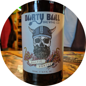 Durty Bull 'Oak Aged Baltic Porter' 500ml