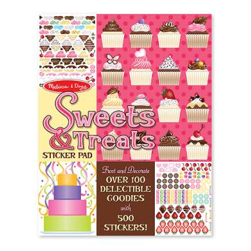 M&D Sticker Pad- Sweets & Treats