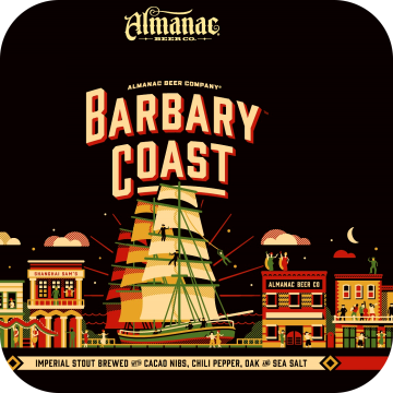 Almanac 'Barbary Coast' Imperial Stout 16oz Sgl (Can)