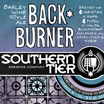 Southern Tier 'Back Burner' Barleywine 22oz
