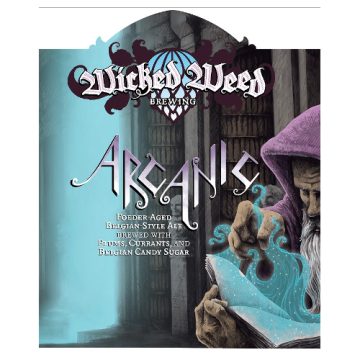Wicked Weed 'Arcanic' Fouder-Aged Belgian-Style Ale 375ml