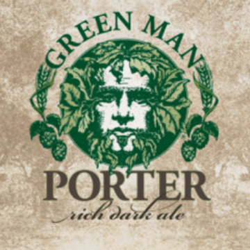 Green Man Porter Case (12oz - Box of 24)