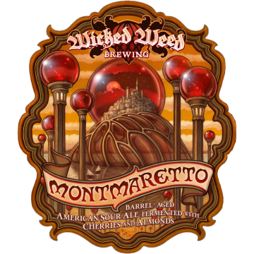 Wicked Weed 'Montmaretto' Barrel-aged Sour Ale 500ml