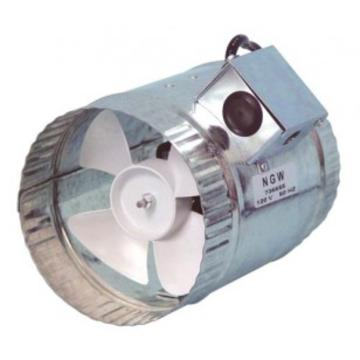 Hurricane In-Line Duct Booster 370 CFM, 8""