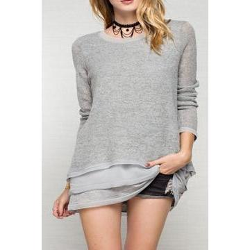 EASEL Light Sweater
