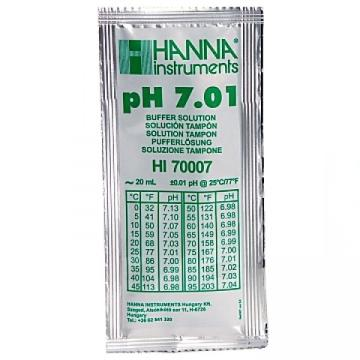 Hanna pH 7.01 Calibration Solution, 20ml Per Unit