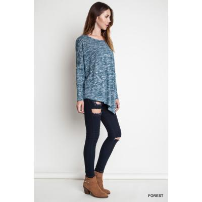 Asymmetrical Knit Top