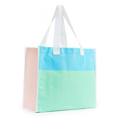 I Want It All Shopper - Color Block