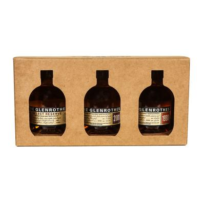 The Glenrothes Single Malt 2001,1998, & Select Reserve Gift Pack (3/100ml)