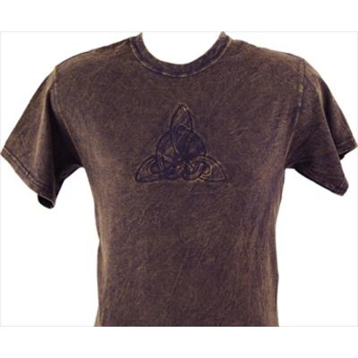 T Shirt: Trinity Knot Embossed