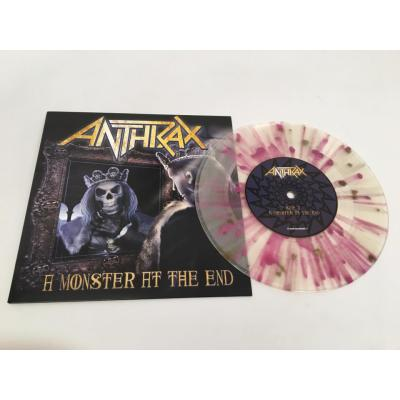 Anthrax - A Monster At The End / Vice Of The People [7''] (unreleased B-side, indie-retail exclusive)