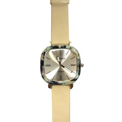 Marbled Square Face Watch
