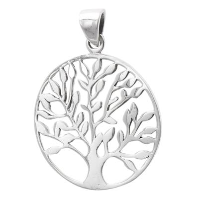 Necklace: SS Large Tree