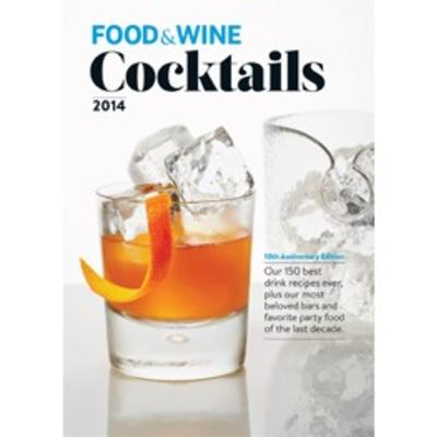 Food and Wine 2014- Cocktail Book