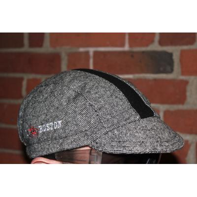Cap - Walz Wool 3 Panel I Bike Boston Grey Tweed / Black Stripe L/XL UA Urban
