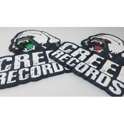 "Creep Records Die Cut Gorilla Moodmat 11"" x 9 1/4"""