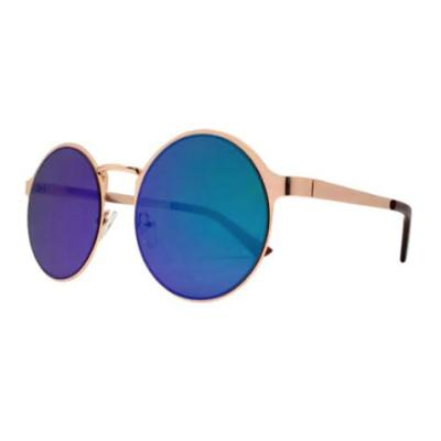 Vintage Colored Lens Sunglasses - Blue/Green