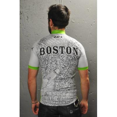 Jersey - 1880 Boston Map - UA x Louis Garneau