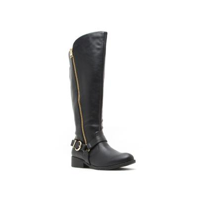 Plateau Tall Boots-Black