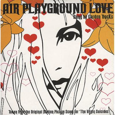 Air - Playground Love [7''] (Orange Vinyl, limited to 5000, indie-retail exclusive)