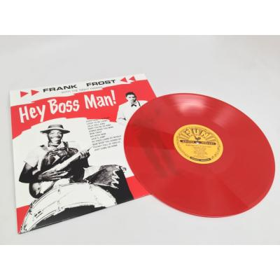 Frank Frost - Hey Boss Man! [LP] (Red Vinyl, limited to 2000, indie-retail exclusive)