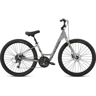Specialized - Roll Elite S/T Disc 2017, Grey/Indigo/Green L Bicycle