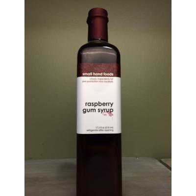 Small Hand Foods- Raspberry Gum Syrup 17.5oz