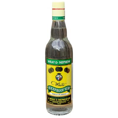 Wray & Nephew Over Proof Rum (750ml)