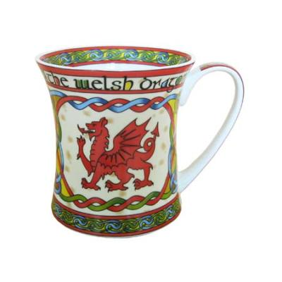 Mug: Welsh Weave Dragon