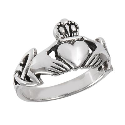 Ring: Claddagh, Trinity, SS